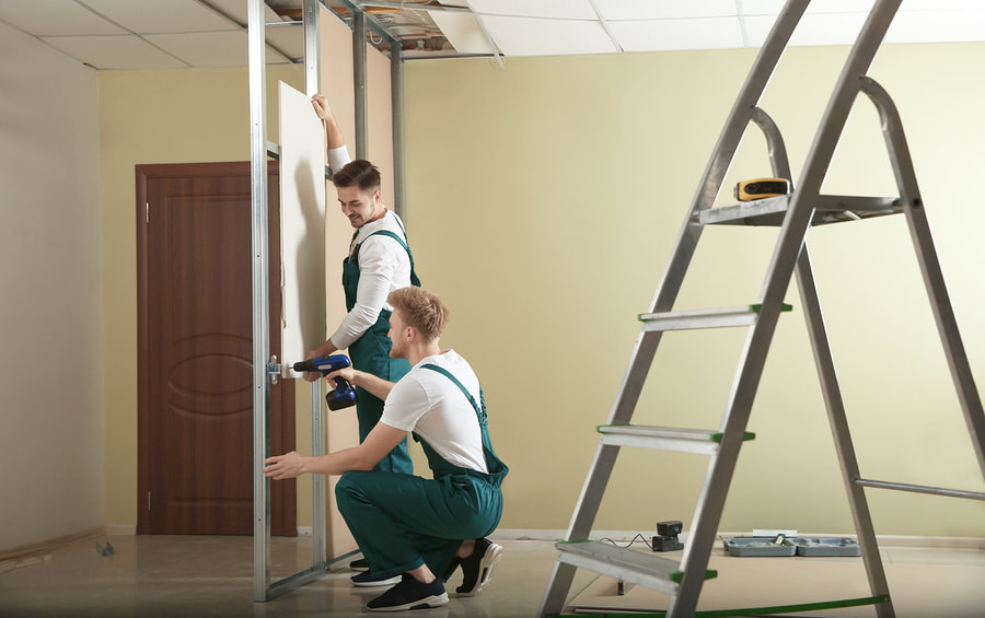 professional drywall installation and repair service