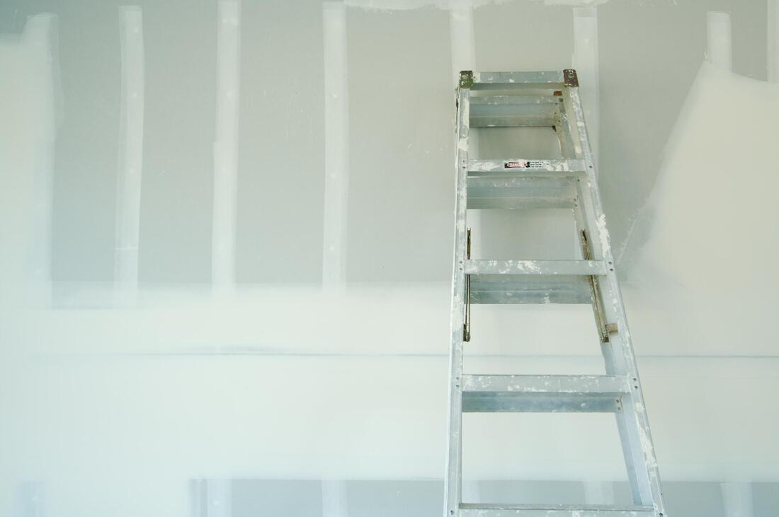professional residential drywall project